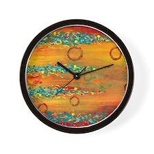 Fiesta Abstract Wall Clock