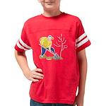 Get it Om. Triangle Yoga Pose Jr. Ringer T-Shirt