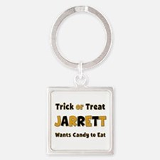 Jarrett Trick or Treat Square Keychain