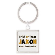 Jaxon Trick or Treat Square Keychain