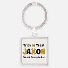 Jaxon Trick or Treat Square Keychain