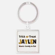 Jaylen Trick or Treat Square Keychain
