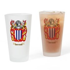 Contreras Coat of Arms Drinking Glass