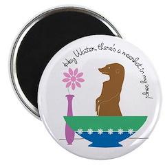 Meerkat Soup Magnet