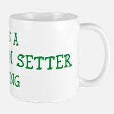 Llewellin Setter thing Mug