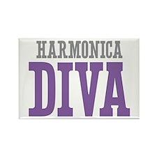 Harmonica DIVA Rectangle Magnet