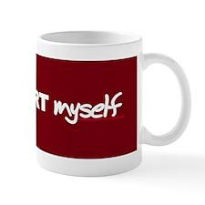 """I HAART myself"" Mug"