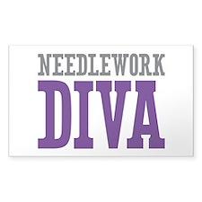 Needlework DIVA Decal