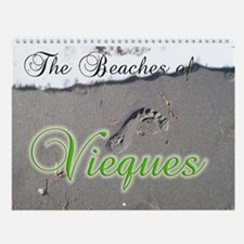 The Beaches of Vieques Wall Calendar