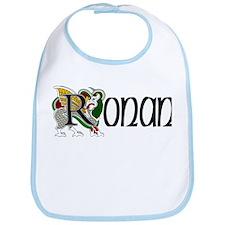 Ronan Celtic Dragon Bib