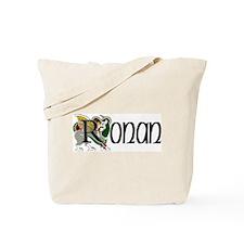 Ronan Celtic Dragon Tote Bag