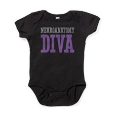Neuroanatomy DIVA Baby Bodysuit