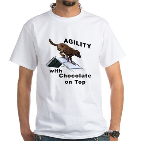 Chocolate Lab Agility T-Shirt