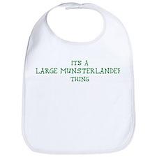 Large Munsterlander thing Bib