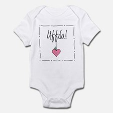 Christmas Uffda! Infant Bodysuit