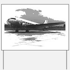 Douglas DC-3 Yard Sign
