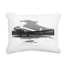 Douglas DC-3 Rectangular Canvas Pillow