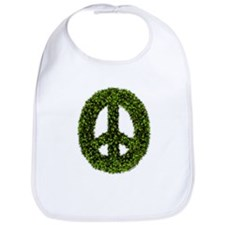 Peace Wreath Bib