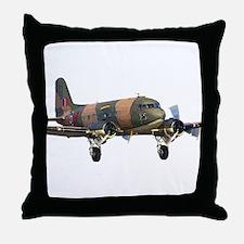 C-47 Skytrain Throw Pillow