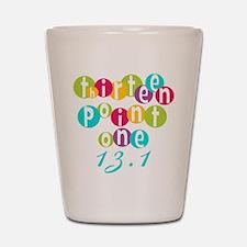 Thirteen Point One 13.1 Shot Glass