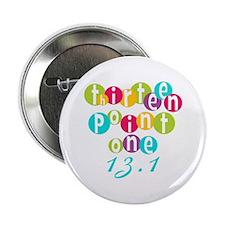 """Thirteen Point One 13.1 2.25"""" Button"""