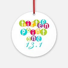 Thirteen Point One 13.1 Ornament (Round)