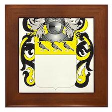 Corbin Coat of Arms Framed Tile