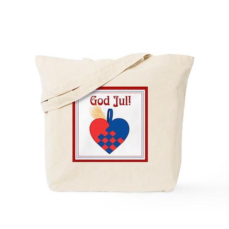 Scandinavian Christmas Themed Tote Bag