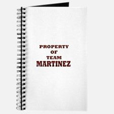Property of team Martinez Journal