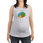 Peace Cartoon Maternity Tank Top
