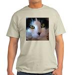 Cat Face Ash Grey T-Shirt