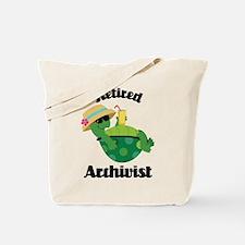 Retired Archivist Gift Tote Bag