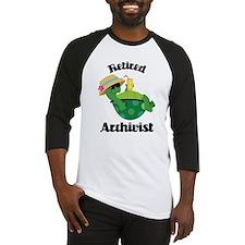 Retired Archivist Gift Baseball Jersey