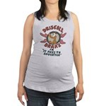 Retro Advertising Maternity Tank Top