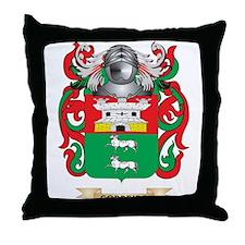 Cordeiro Coat of Arms Throw Pillow