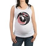 Tribal Tattoo Maternity Tank Top