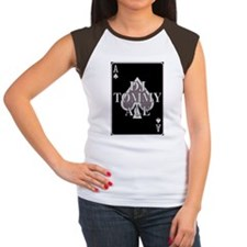DJ TOMMY ACE LOGO 2 Women's Cap Sleeve T-Shirt