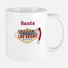 Santa's Hat on LV Sign Mug