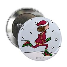 Cool Runnings Woman Button