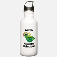Retired Assistant Principal Gift Water Bottle