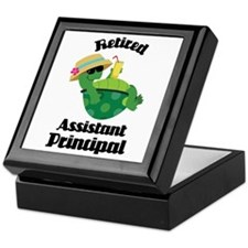 Retired Assistant Principal Gift Keepsake Box