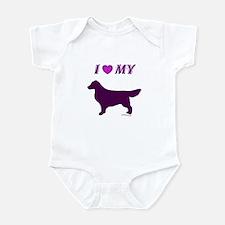 Retriever Plum Infant Bodysuit