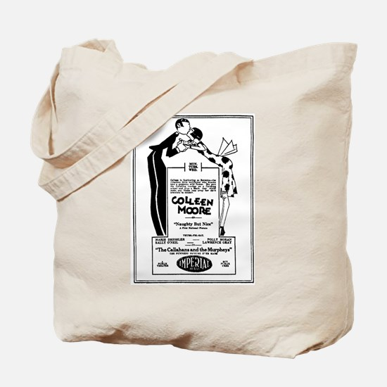 Colleen Moore Naughty but Nice Tote Bag