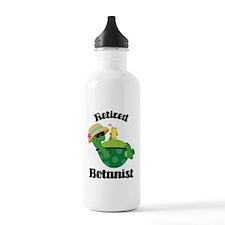 Retired Botanist Gift Water Bottle