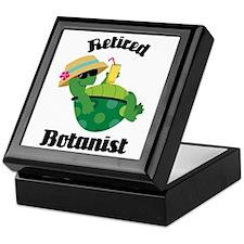 Retired Botanist Gift Keepsake Box
