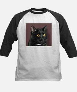 Black Cat wYellowEyes Tee