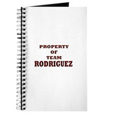 Property of team Rodriguez Journal