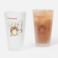 The Drummer - Drinking Glass