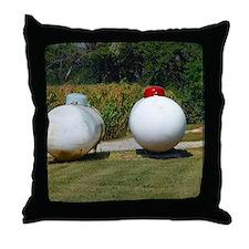 Propane Throw Pillow