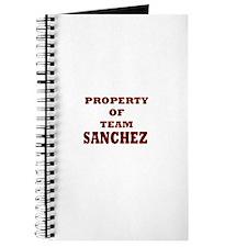 Property of team Sanchez Journal
